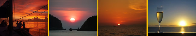 discover sunset trip on Phuket yacht while day sailing